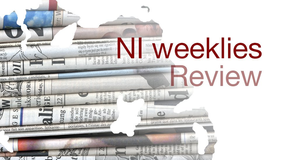 NI weekly papers: Football, wedding joy and castle for sale