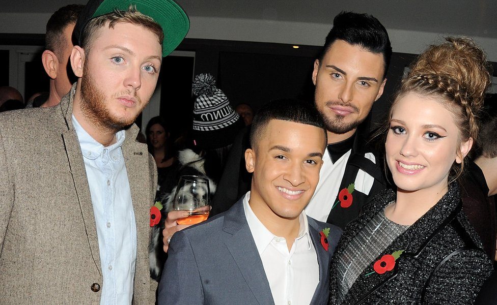 The X Factor class of 2012: James Arthur, Jahene Douglas, Rylan and Ella