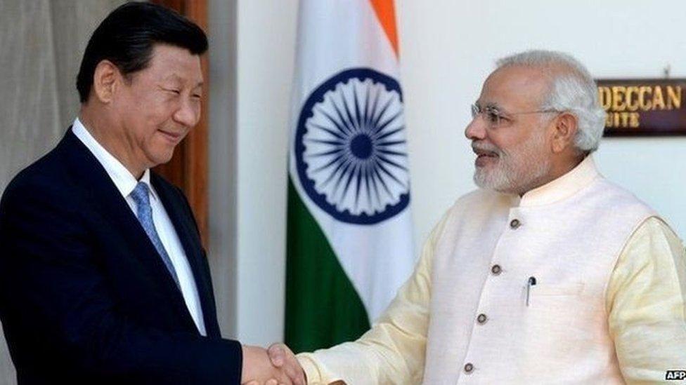 印度2014年習近平訪問印度