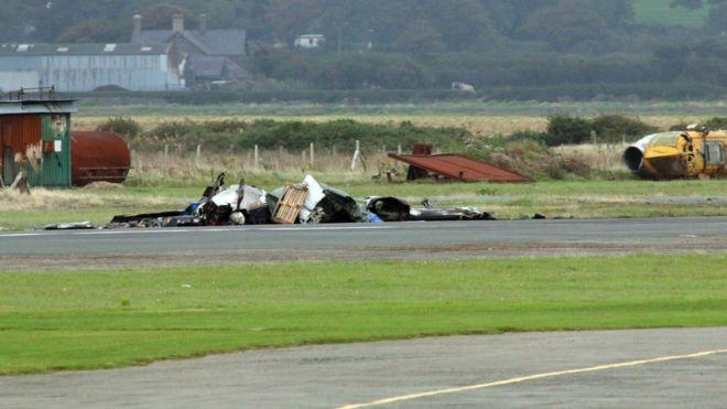 Caernarfon Airport crash: Pilot's death ruled accidental