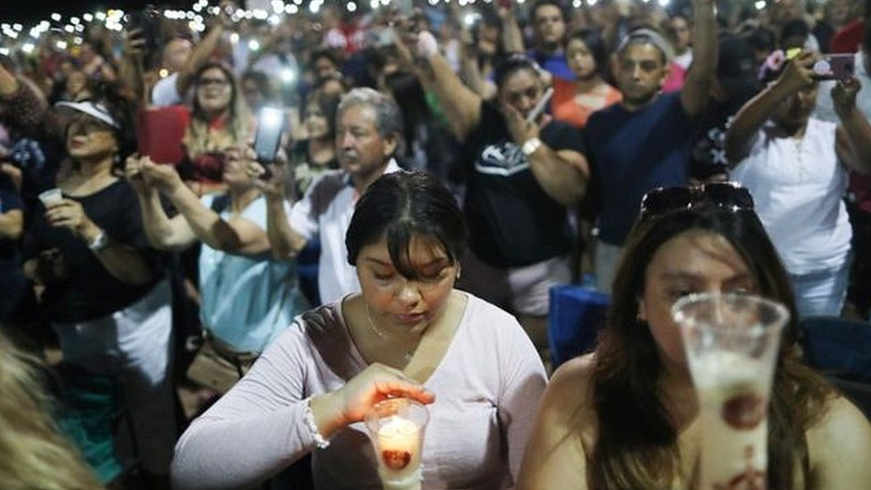 Vigilia en El Paso