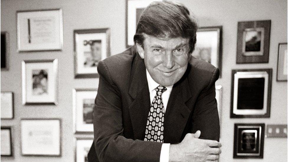 """Donald Tramp u """"Kuli Tramp"""""""