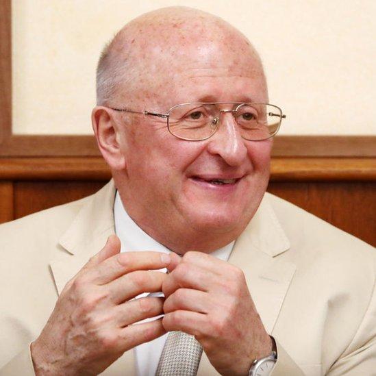 Alexander Gintsburg, director del Instituto Gamalei.