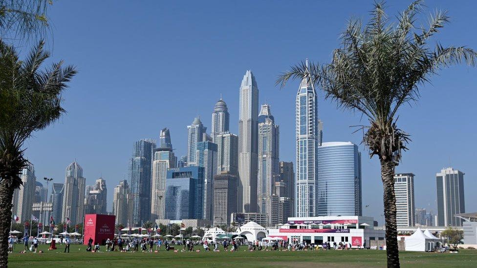 نظرة عامة على ميدان القيادة في دبي، الإمارات العربية المتحدة