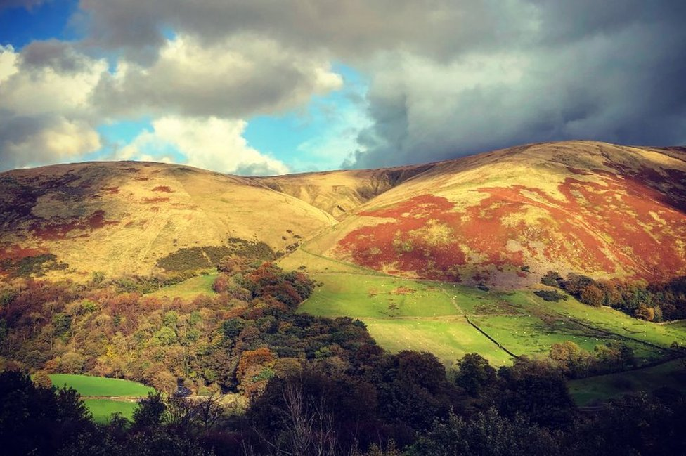 Hills in Cumbria