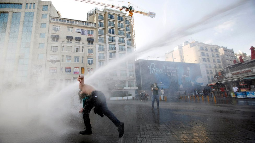 Boris Johnson's unused water cannon sold for scrap at £300k loss
