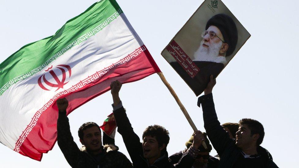 伊朗伊斯蘭革命33週年紀念,資料圖片