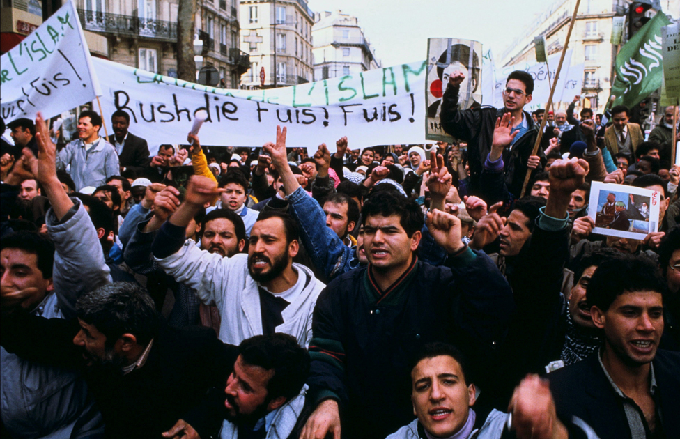 A demonstration in Paris