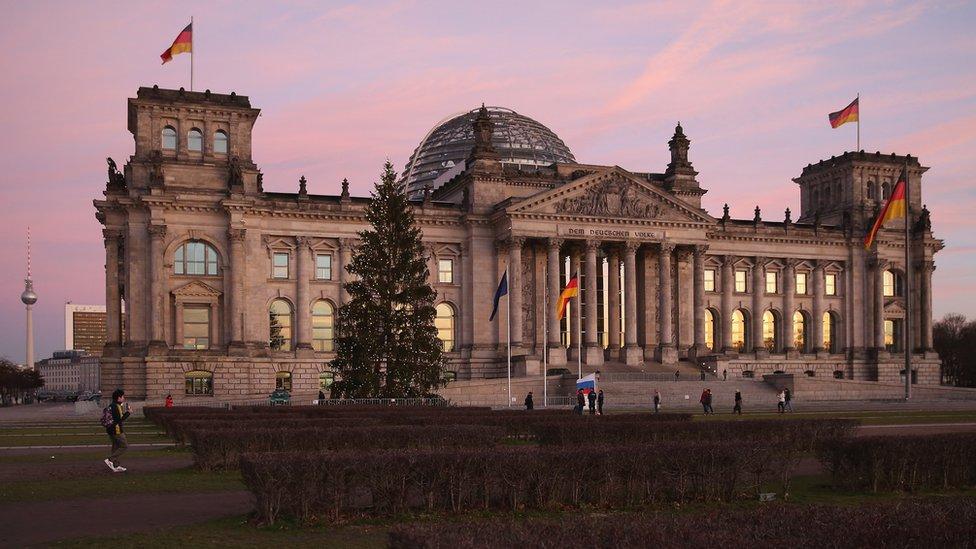 nemački parlament
