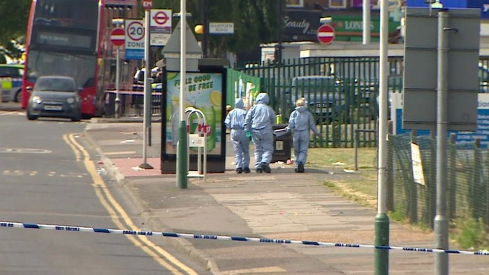 Romford death: Boy killed in community centre party stabbing