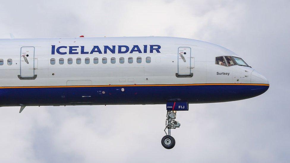 Avión de Icelandair