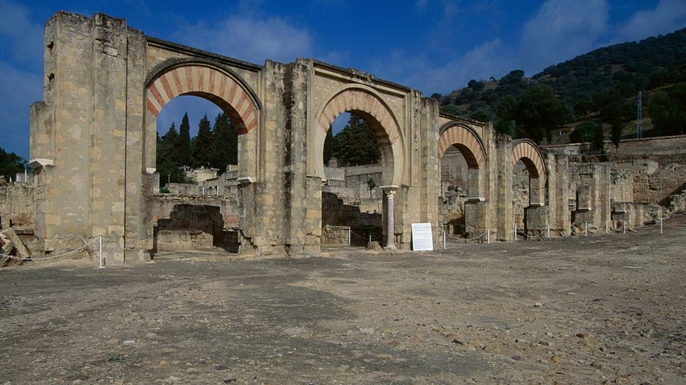 Arcos de las ruinas de la medina.