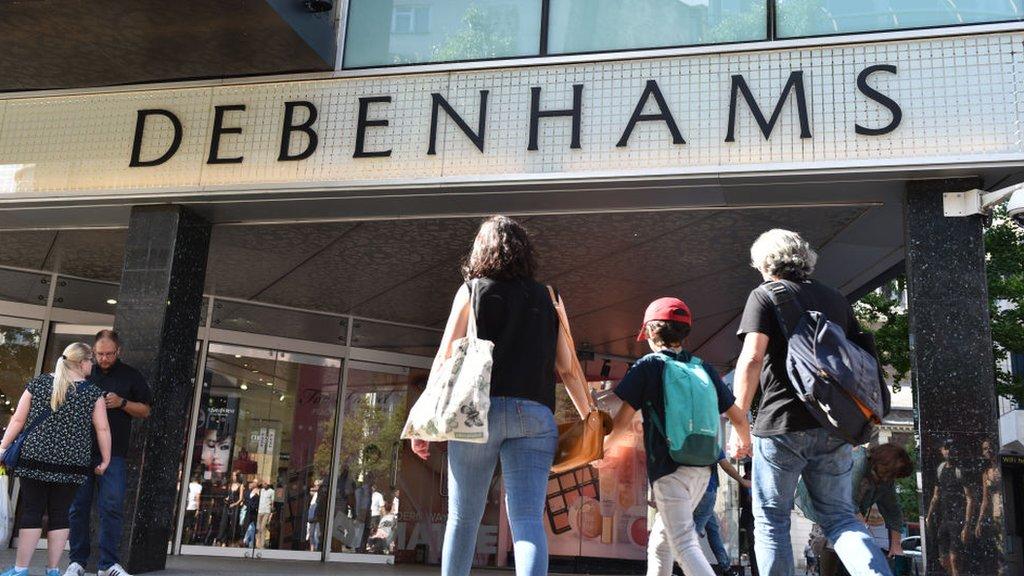Debenhams in profit alert as sales continue to slide