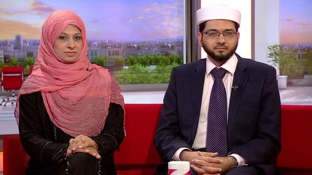 Saima Alvi and Qari Asim