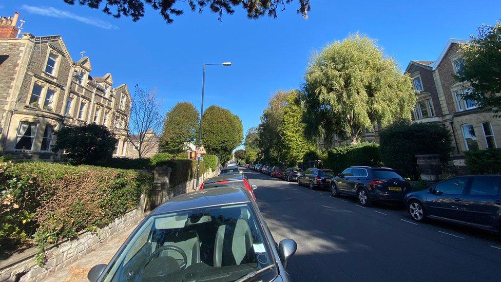 General street view of Alma Road in Bristol