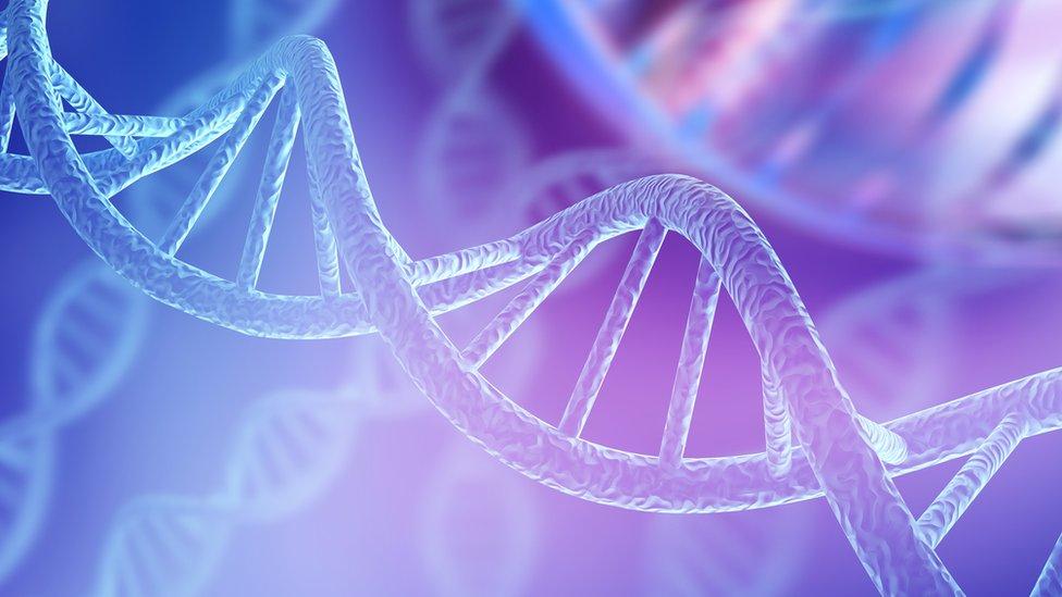 Ilustración de ADN