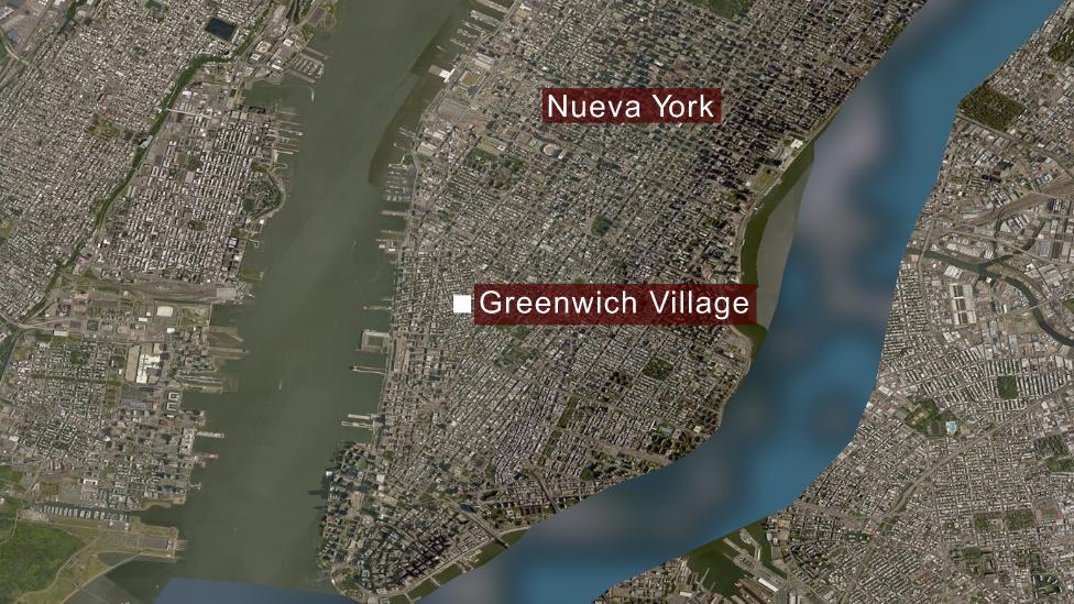Greenwich Village, Nueva York.