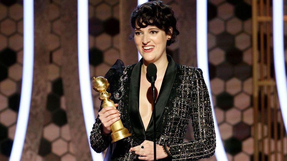 Phoebe Waller-Bridge ganó su primer Golden Globe por su interpretación en la serie de su autoría,