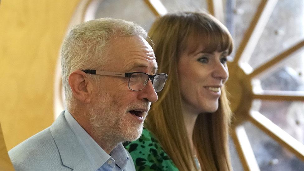 Corbyn and Rayner