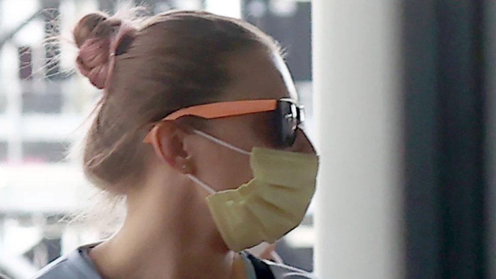 Белорусская легкоатлетка Кристина Тимановская прибыла в Варшаву