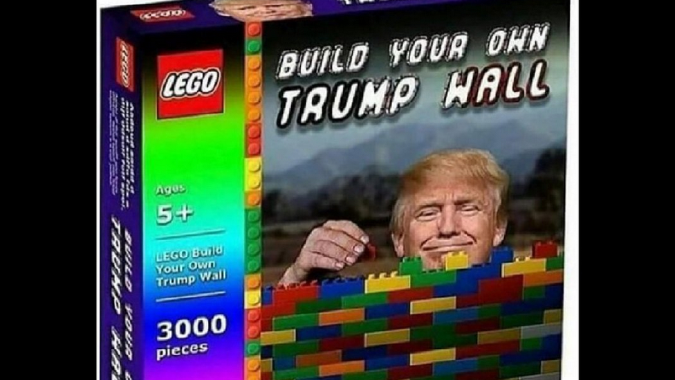 trump border wall meme