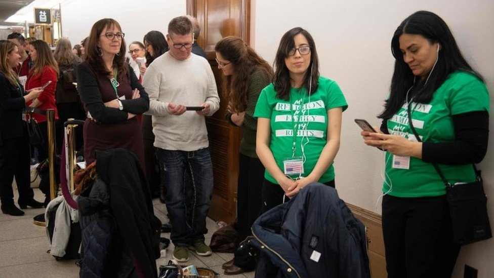 Parents in-line to attend hearing