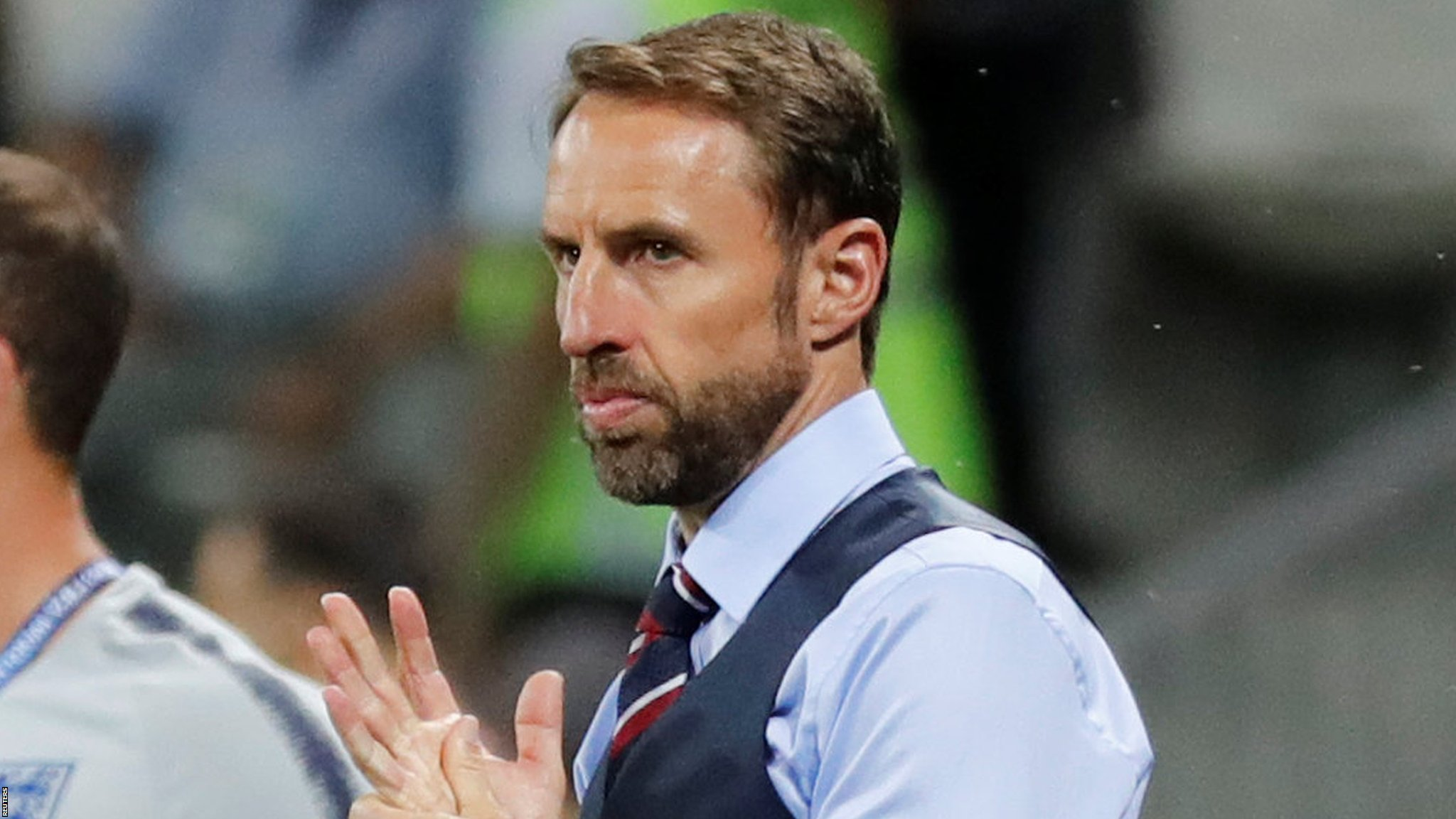 'Punching the air is not an option' - England boss Southgate dislocates shoulder while running