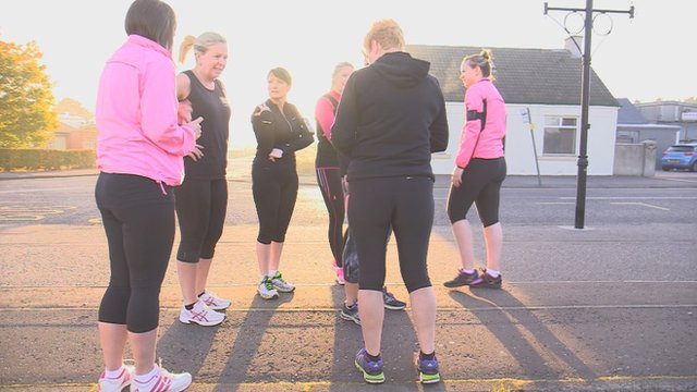 Get Inspired: Exercise group 'like free therapy'