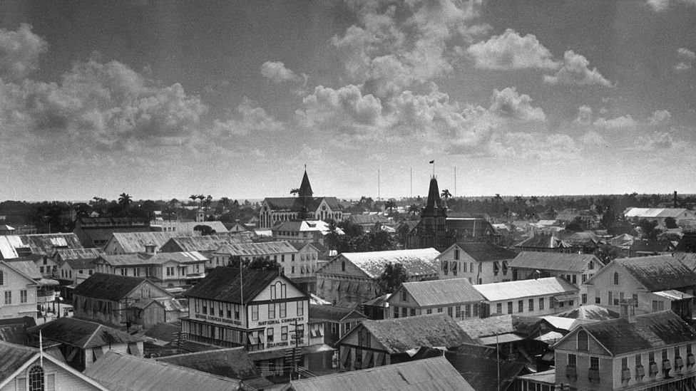 Georgetown en 1941.