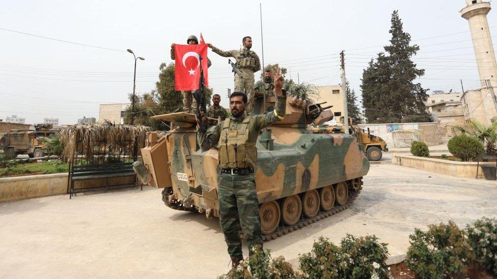 Soldados turcos.
