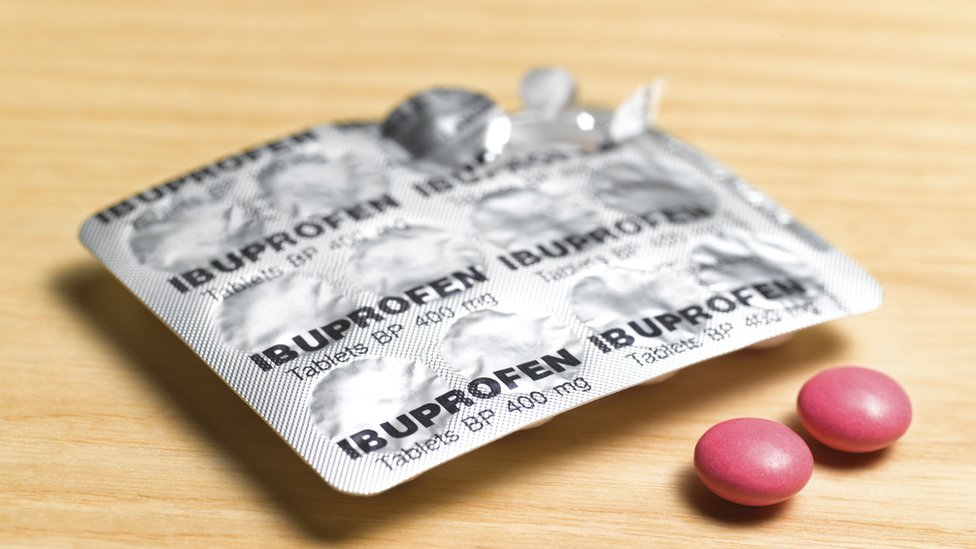 Tabletas de ibuprofeno