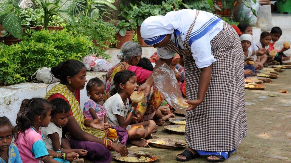 Mother Teresa's charity runs 19 homes in Kolkata