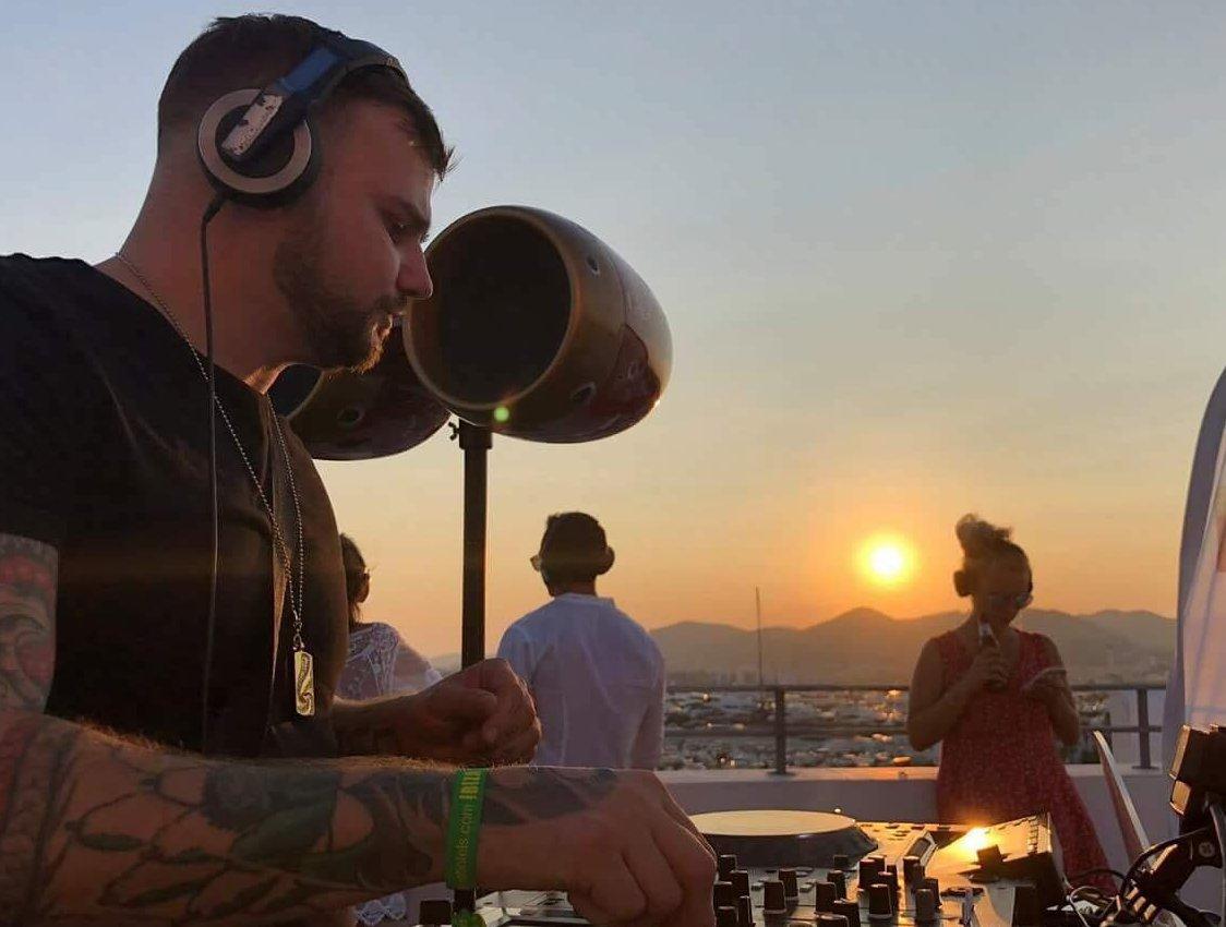 John Mclean DJs in his spare time