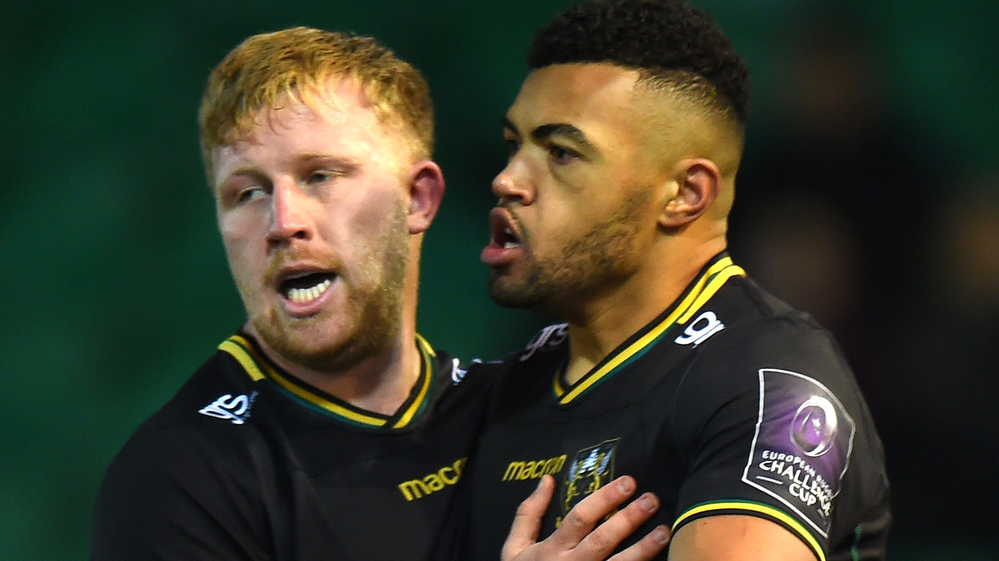 European Rugby Challenge Cup: Northampton Saints 48-14 Dragons
