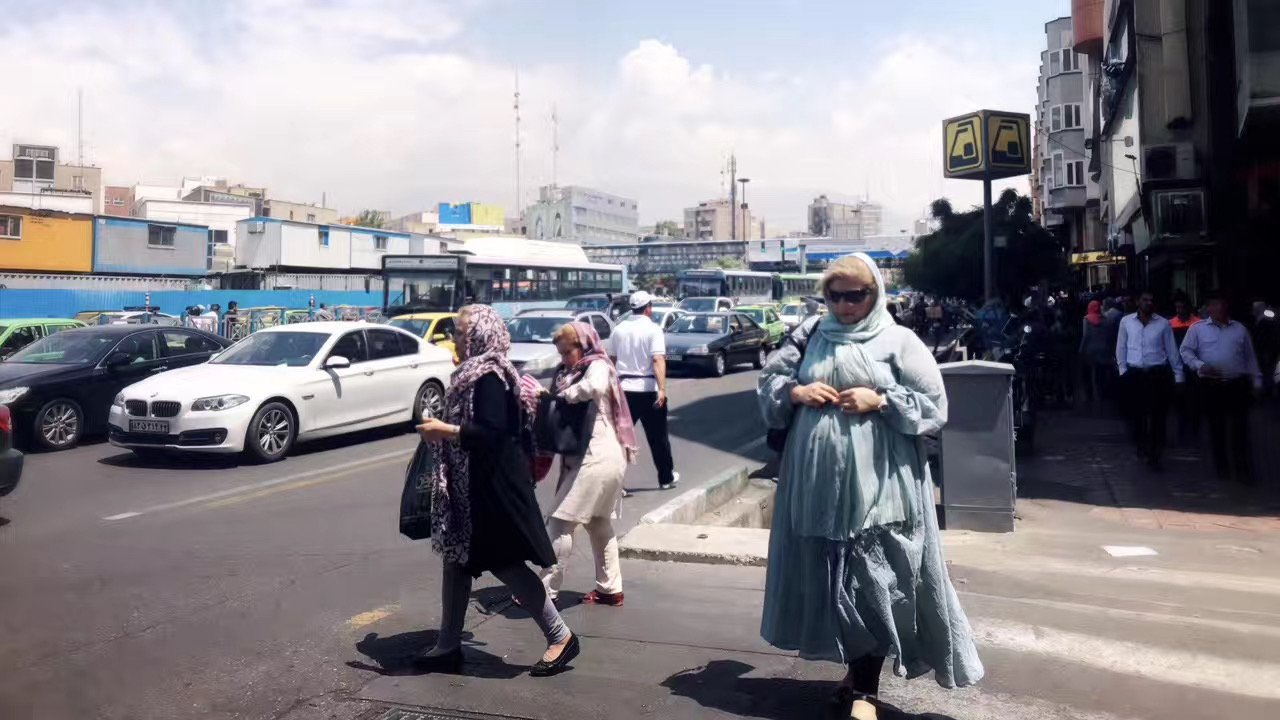 伊朗經濟因美國制裁而陷入困境。