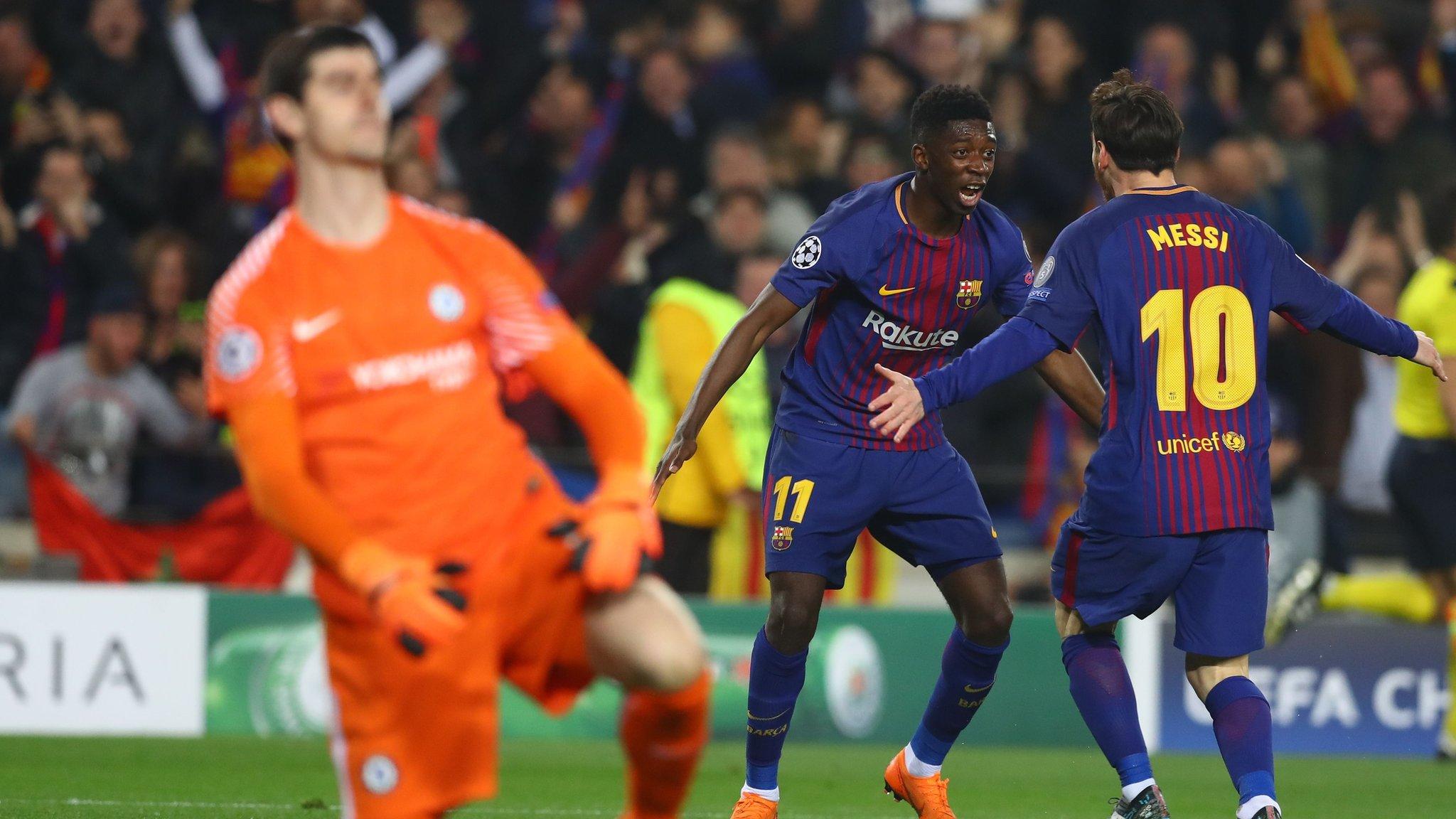 Barcelona 3-0 Chelsea (Agg: 4-1)
