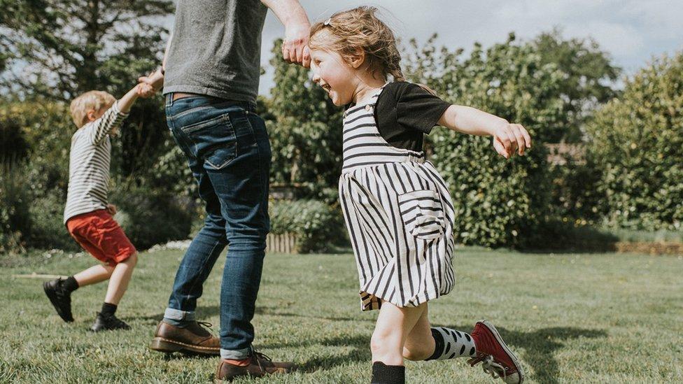 Felicidad en niños