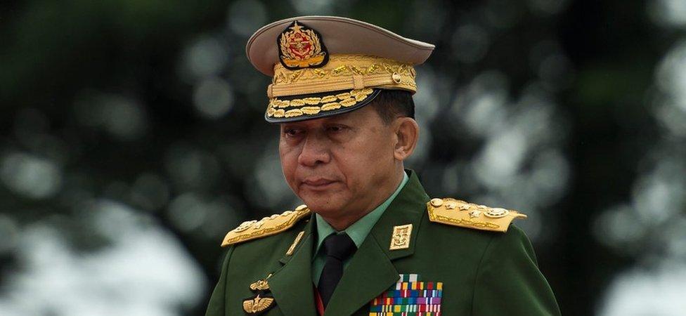 Načelnik generalštaba Min Aung Hlaing