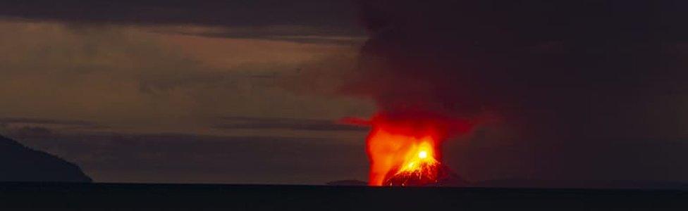 Anak Krakatao erupcija