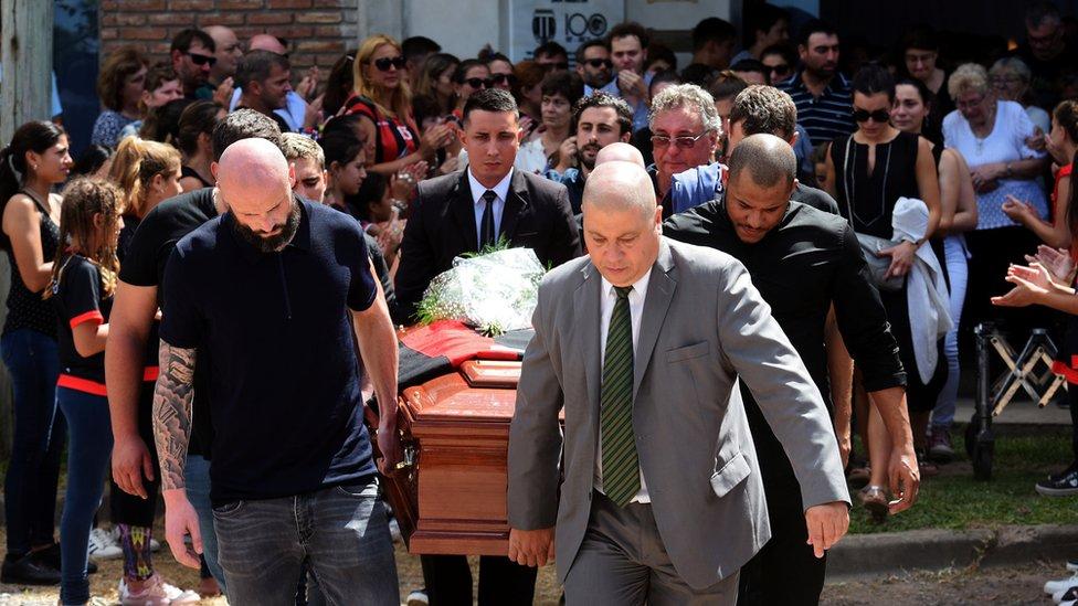 Funeral por Emiliano Sala