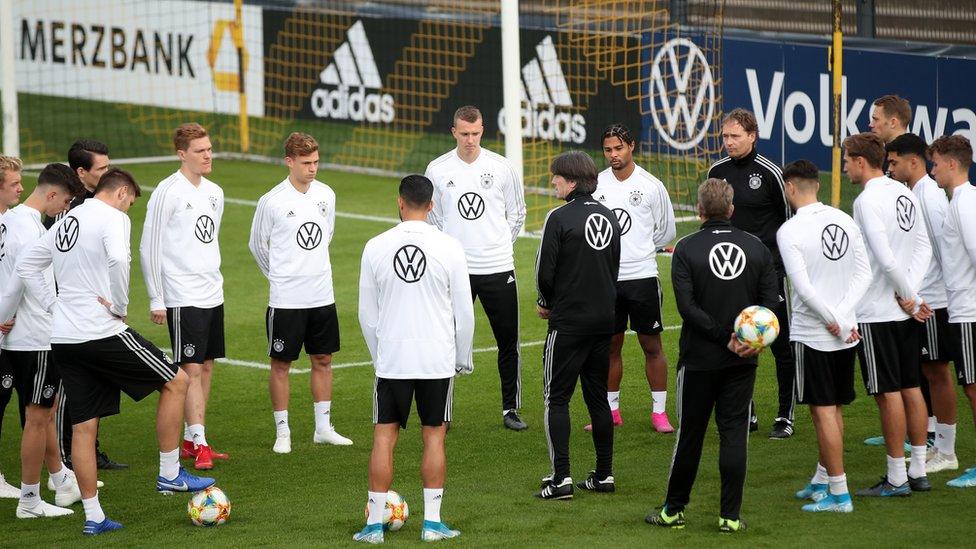 Equipo de fútbol alemán