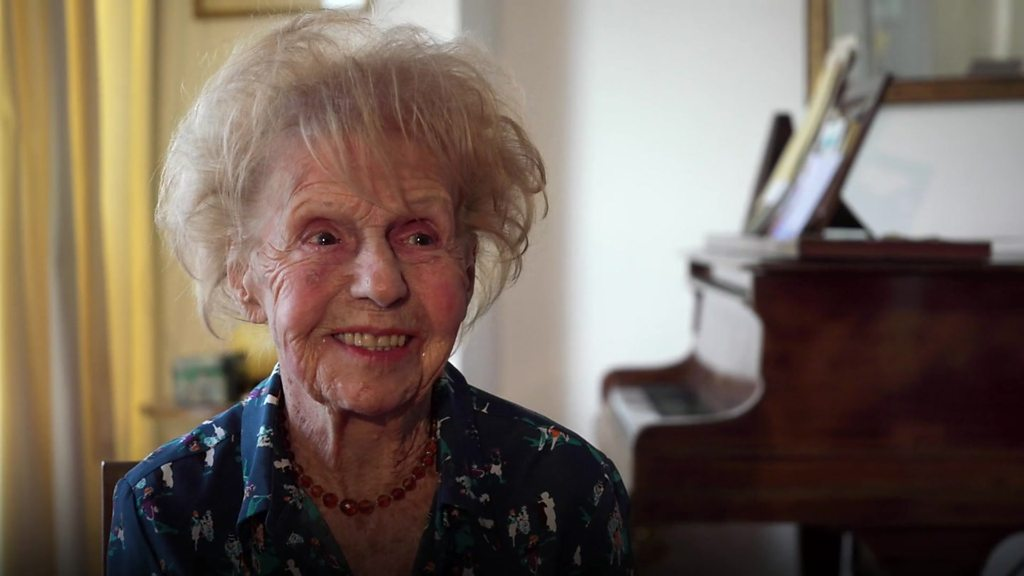 BBC News - The 103-year-old pianist