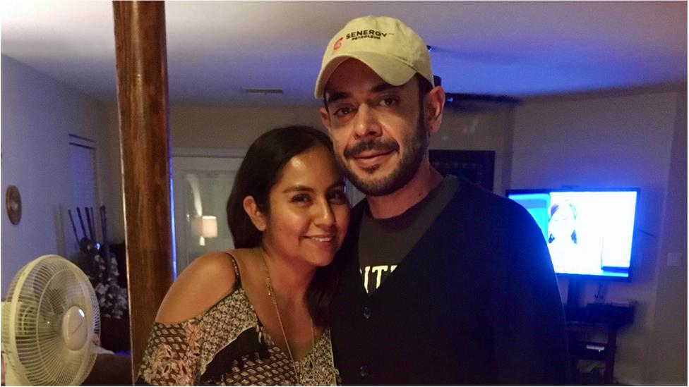 Yazmin e marido