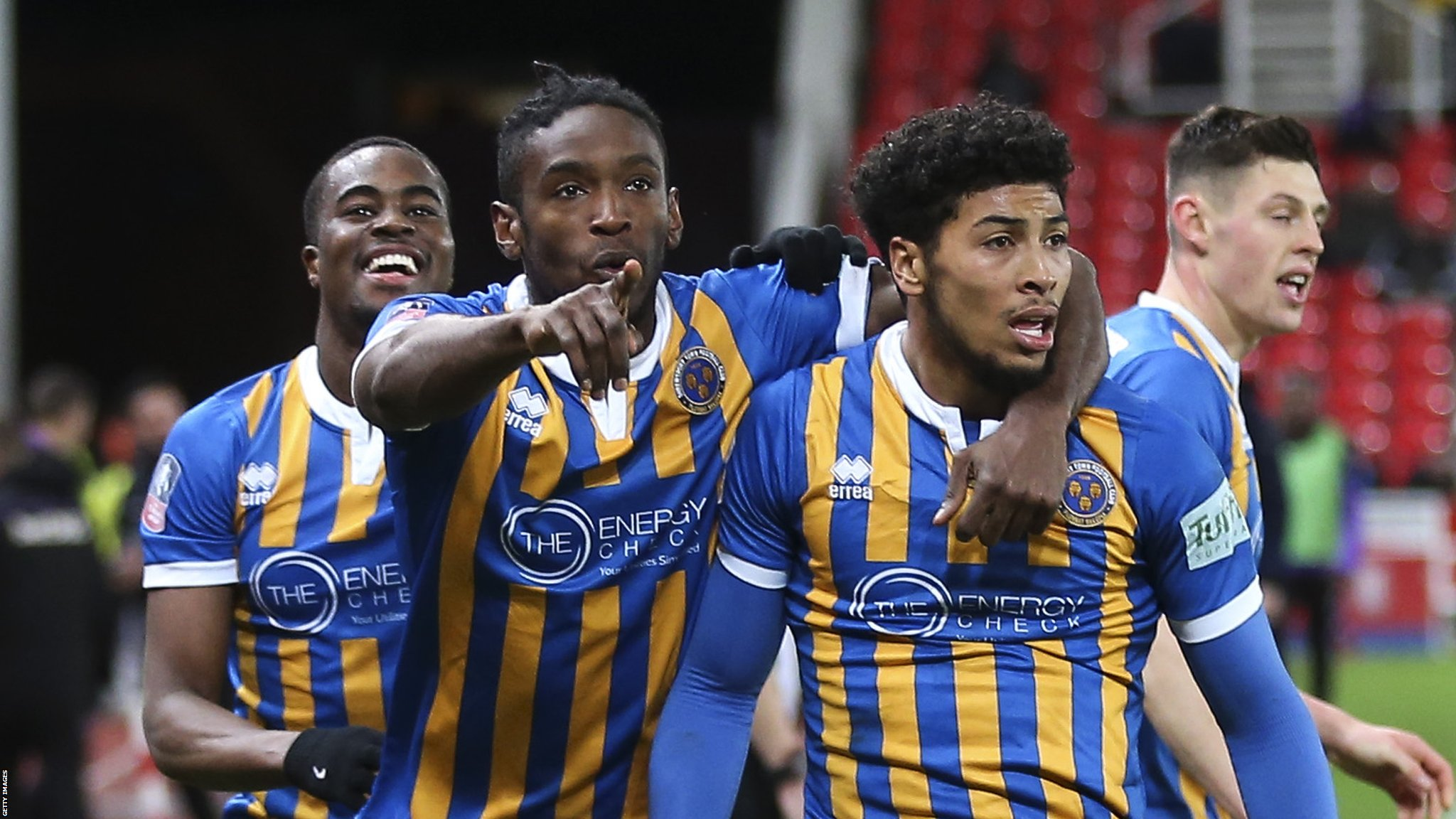 FA Cup third round: Stoke City 2-3 Shrewsbury