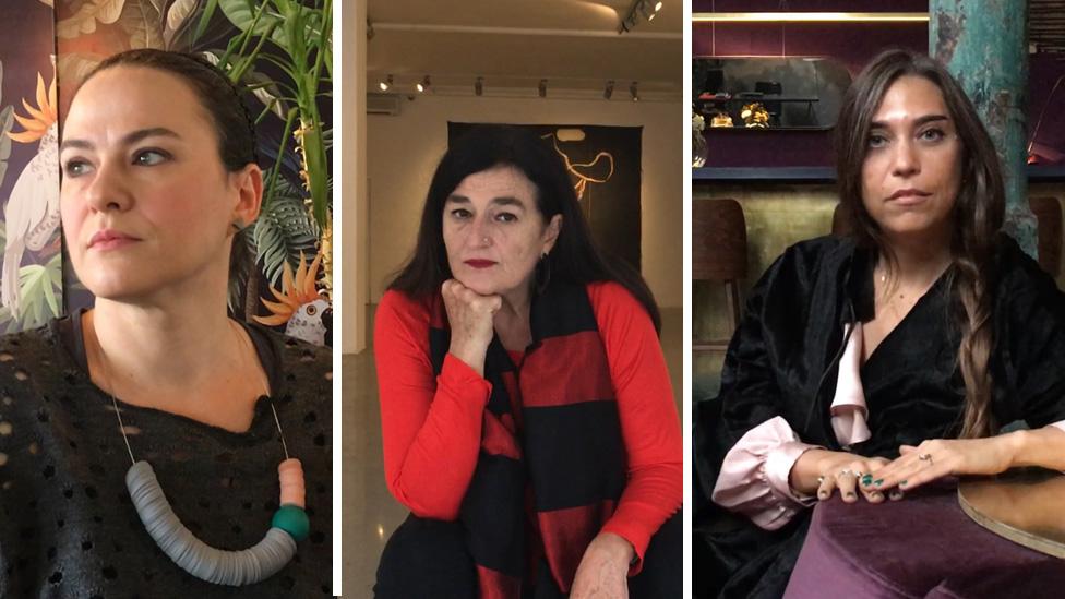Ivana Smiljanić, Dragana Žarevac i Marina Marković
