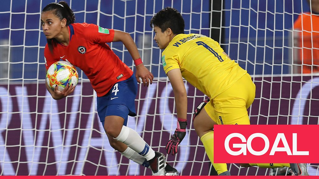 Women's World Cup 2019: Waraporn Boonsing's own goal for Thailand gives Chile the lead