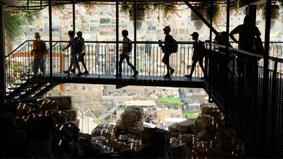 """زار ملايين السائحين موقع """"مدينة داوود"""" الأثري الواقع في القدس الشرقية المحتلة"""