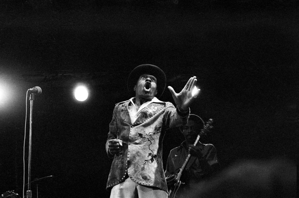 Junior Wells at ChicagoFest, 1979