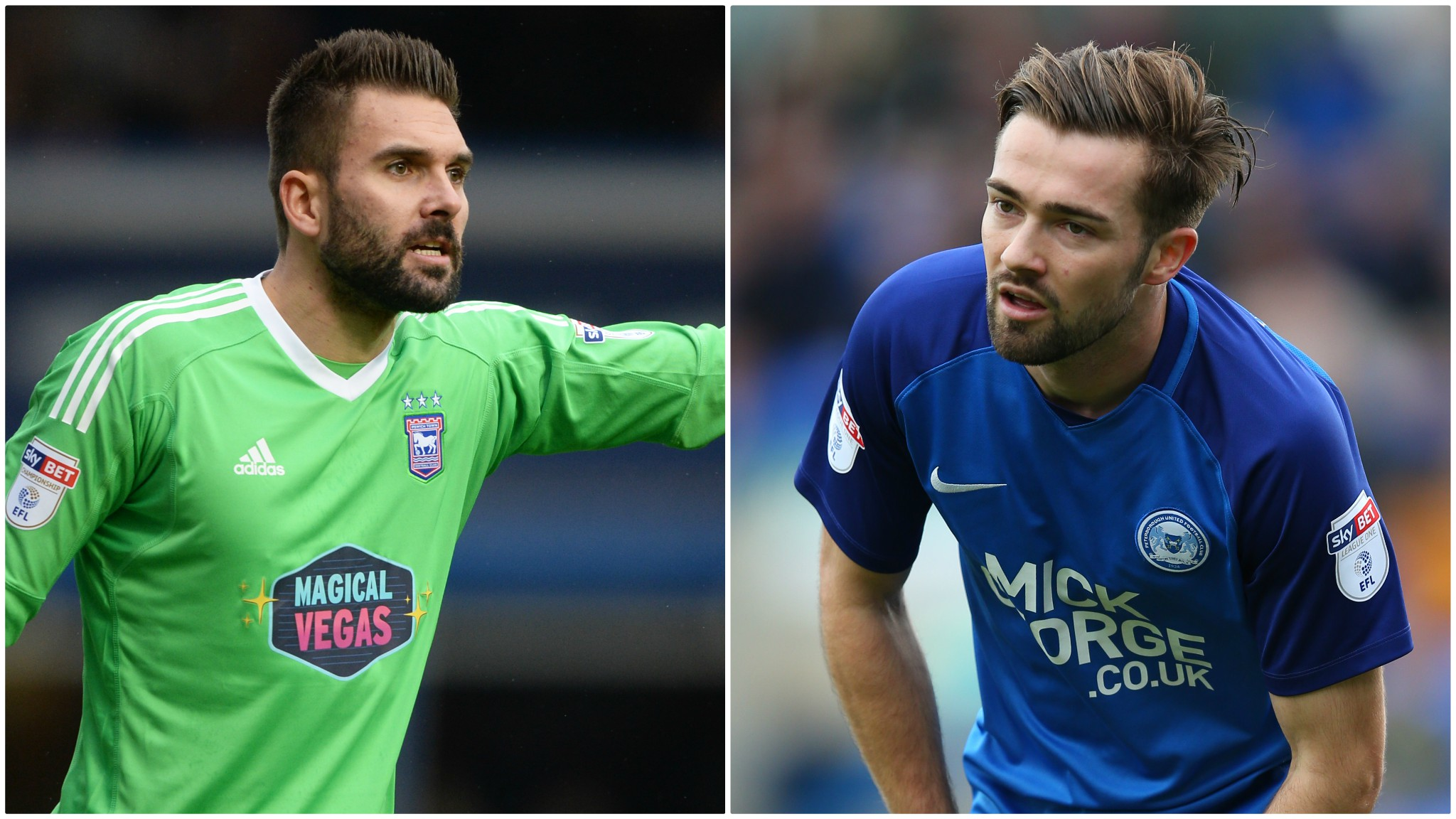 Ipswich Town: Peterborough's Gwion Edwards signs as Bartosz Bialkowski extends deal