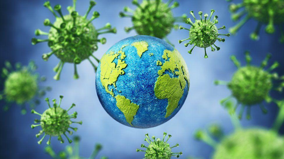 新冠病毒在全球傳播不斷發生病毒變異(Getty Images)